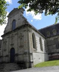 Ancien couvent des Ursulines - Français:   Façade principale de la chapelle du couvent des Ursulines de Quimperlé (29).
