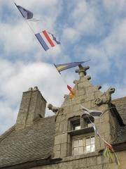 Maison dite de Marie Stuart - Nederlands: Dakkapel in Roscoff, Bretagne
