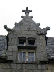 Maison dite de Marie Stuart -  Vue de la ville de Roscoff dans le Finistère