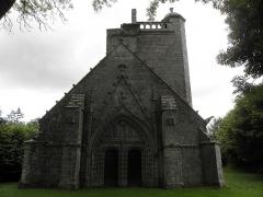 Chapelle du Moustoir - Français:   Façade occidentale de la chapelle du Moustoir en Rosporden (29).