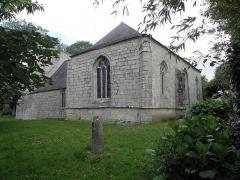 Chapelle du Moustoir - Français:   Chevet et flanc sud de la chapelle du Moustoir en Bannalec (29).
