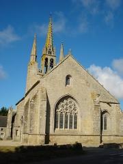 Chapelle Notre-Dame-de-Tronoën - English: Chapelle Notre-Dame de Tronoën, chevet