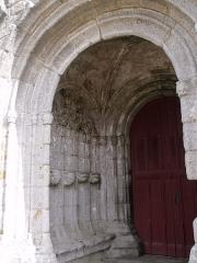 Chapelle Notre-Dame-de-Tronoën - Español: Capilla de Nuestra Señora de Tronoën.
