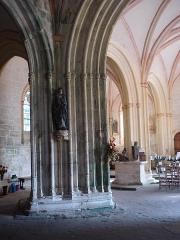 Chapelle Notre-Dame-de-Tronoën - English: Chapelle Notre-Dame de Tronoën, intérieur