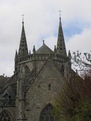 Ancienne cathédrale Saint-Paul-Aurélien - Chevet de la cathédrale Saint-Paul-Aurélien de Saint-Paul de Léon (29).