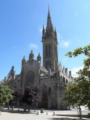 Eglise Notre-Dame du Creisker ou Kreisker - Français:   Façade occidentale de la chapelle N.D. du Kreisker à Saint-Pol-de-Léon (29).