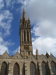 Eglise Notre-Dame du Creisker ou Kreisker - Chapelle Notre-Dame du Kreisker, Saint Pol de Léon, Haut Léon, Bretagne
