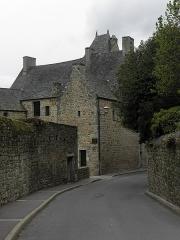 Maison prébendale - Français:   Revers de la Richardine, maison prébendale du 1 Place du Petit-Cloître en Saint-Pol-de-Léon (29).