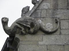 Maison prébendale - Français:   Crossette de l\'angle gauche du pignon occidentale de la Richardine, maison prébendale du 1 Place du Petit-Cloître en Saint-Pol-de-Léon (29).