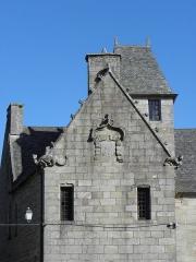 Maison prébendale - Français:   Maison prébendale sise 1 rue du Petit-Cloître à Saint-Pol-de-Léon (29).