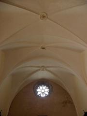 Eglise Notre-Dame - Intérieur de l'église Notre-Dame-de-Toutes-Joies de Broualan (35). Voûtes de la nef.