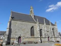 Eglise Notre-Dame - Façade méridionale de l'église Notre-Dame-de-Toutes-Joies à Broualan (35).