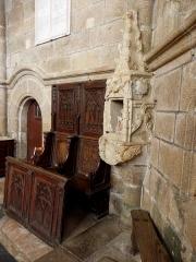 Eglise Notre-Dame - Sacraire de l'église Notre-Dame-de-Toutes-Joies de Broualan (35).