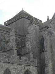 Ancienne cathédrale Saint-Samson - Tour de croisée de la cathédrale Saint-Samson de Dol-de-Bretagne (35).