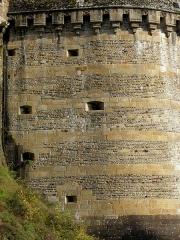 Château - Tour Raoul du Château de Fougères (35).