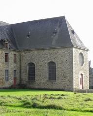 Ancien couvent des Religieuses Urbanistes - Couvent des Clarisses Urbanistes de Fougères (35). Aile Ouest. Chapelle.