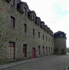 Ancien couvent des Religieuses Urbanistes - Couvent des Clarisses Urbanistes de Fougères (35). Aile Nord.