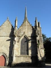 Eglise Saint-Sulpice - 1ère chapelle nord de l'église Saint-Sulpice de Fougères (35) dite chapelle Saint-Domyn.