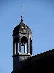 Eglise Saint-Sulpice - Église Saint-Sulpice de Fougères (35). Clocheton au chevet de l'édifice.