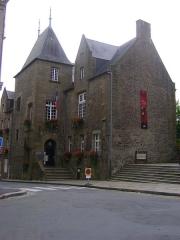 Hôtel de ville - Hôtel de Ville de Fougères, Ille-et-Vilaine.