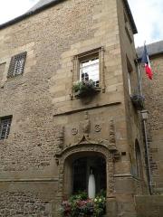 Hôtel de ville - Façade de l'hôtel de ville de Fougères.