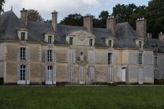 Château de Blossac - Façade ouest du château de Blossac à Goven lors des journées européennes du patrimoine le 20 septembre 2015.