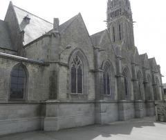 Eglise Notre-Dame - Collatéral nord de la basilique Notre-Dame-de-l'Assomption de La Guerche-de-Bretagne (35).