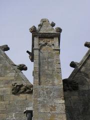 Eglise Notre-Dame - 5ème pinacle du collatéral sud de la basilique Notre-Dame de La Guerche-de-Bretagne (35).