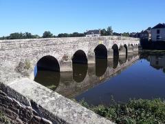 Pont de Pont-Réan - Español: Puente sobre el río Vilaine en Pont-Réan, Bretaña, Francia.