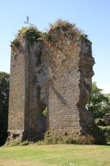 Restes du Vieux-Château - Français:   Château de Hédé (inscription)