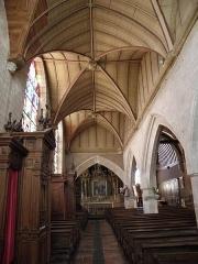 Eglise Saint-Patern - Collatéral nord de l'église saint-Patern à Louvigné-de-Bais (35).