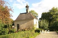Château du Bois-Glaume - Français:   Chapelle du château du Bois-Glaume à Poligné.