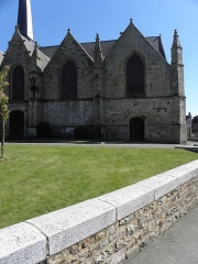 Eglise Saint-Crépin ou Saint-Crépinien - Façade nord de l'église Saint-Crépin et saint-Crépinien de Rannée (35).