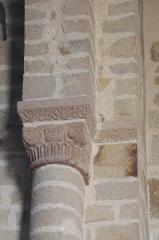 Eglise Saint-Crépin ou Saint-Crépinien - Deutsch: Kirche Saint-Crépin-et-Saint-Crépinien in Rannée im Département Ille-et-Vilaine (Bretagne/Frankreich), Kapitell