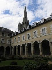 Ancienne abbaye Saint-Sauveur - Aile nord du cloître de l'abbaye Saint-Sauveur de Redon (35).