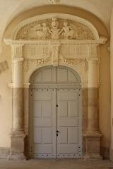 Ancienne abbaye Saint-Sauveur - Cloître de l'abbaye Saint-Sauveur de Redon (35).