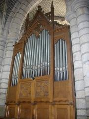 Eglise Saint-Sauveur (ancienne basilique) - Église Saint-Sauveur de Redon (Ille-et-Vilaine, France), orgue