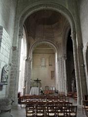 Eglise Saint-Sauveur (ancienne basilique) - Vue vers le sud du transept de l'abbatiale Saint-Sauveur de Redon (35).