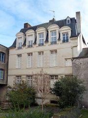 Hôtel du 17e siècle - English:  Backside of Hôtel de Carmoy, Redon, Ille-et-Vilaine, Brittany, France.