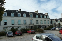 Manoir du Mail, anciennement appelé hôtel du Plessis - English:  North side of the Manoir du Mail, Redon, Ille-et-Vilaine, Brittany, France.