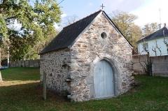 Manoir du Mail, anciennement appelé hôtel du Plessis - English:  Santiago de Compostela chapel in the hamlet of Le Bellion, Fégréac, Loire-Atlantique, Pays de la Loire, France.