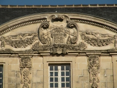 Ancienne abbaye Saint-Melaine - Français:   Manoir abbatial de l'ancienne abbaye Saint-Melaine à Rennes. Ancien archevêché et ancienne faculté de Droit.