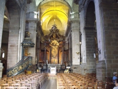 Basilique Saint-Sauveur - Español: Basílica de San Salvador de Rennes.