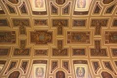 Cathédrale Saint-Pierre - La cathédrale Saint-Pierre de Rennes  lors des journées européennes du patrimoine le 19 septembre 2015: plafond de la nef.