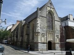 Ancienne chapelle Saint-Yves - Español: Antigua capilla de Saint-Yves. En 2012 era oficina de turismo.