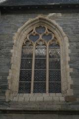 Ancienne chapelle Saint-Yves - Chapelle Saint-Yves de Rennes, détail de la façade sur la rue Saint-Yves.