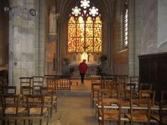 Eglise Notre-Dame-en-Saint-Mélaine -  Chapelle sud du chœur de l'église Notre-Dame en Saint-Melaine à Rennes (35).