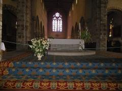 Eglise Notre-Dame-en-Saint-Mélaine -  Chœur de l'église Notre-Dame en Saint-Melaine de Rennes (35).