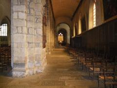 Eglise Notre-Dame-en-Saint-Mélaine -  Collatéral sud de la nef de l'église Notre-Dame en Saint-Mlaine de Rennes (35).