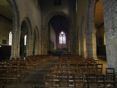 Eglise Notre-Dame-en-Saint-Mélaine -  egNef principale de l'église Notre-Dame en Saint-Melaine à Rennes (35).